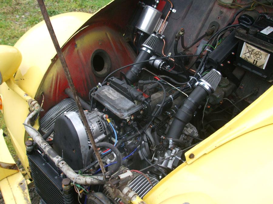 citroen 2cv 6 motor